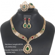 African Nigerian Beads Jewelry Set For Women