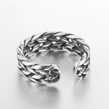 Vintage Sterling Silver Party Retro Ring