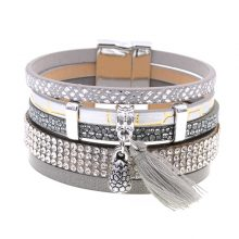 Summer Leather Charm Bracelets For Women